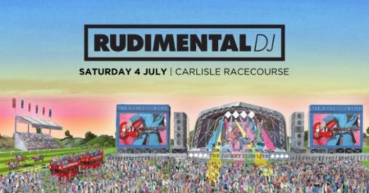 Rudimental headline DJ set live at Carlisle Racecourse