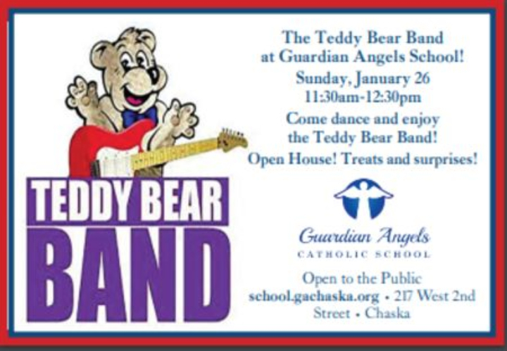 Teddy Bear Band Open House at Guardian Angels School