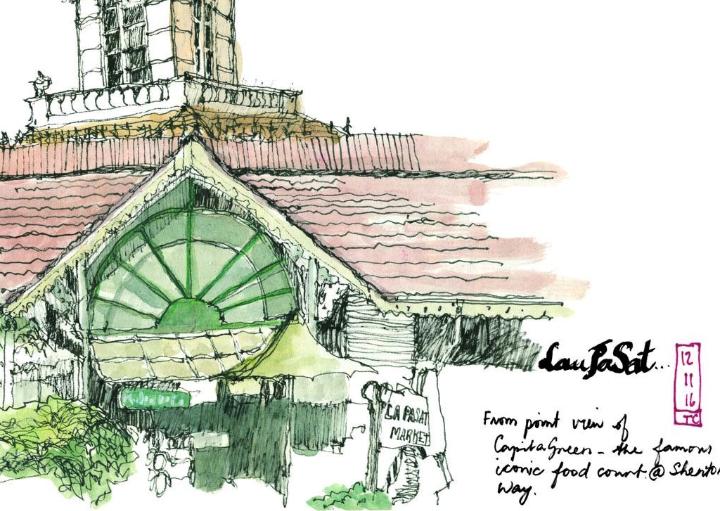 Artspace@SCCC: Uncles Love Monuments (Urban Sketching Exhibition)