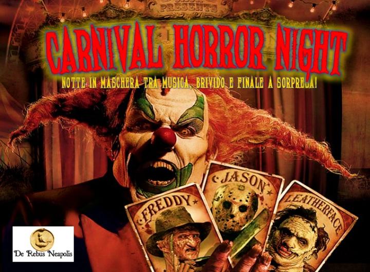 Carnival Horror Night: tour tra brivido, musica, brindisi e Finale a Sorpresa!