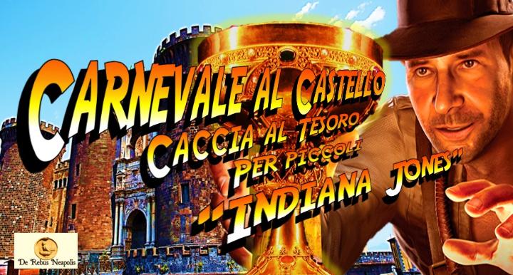 Carnevale al Castello:caccia al tesoro per piccoli Indiana Jones