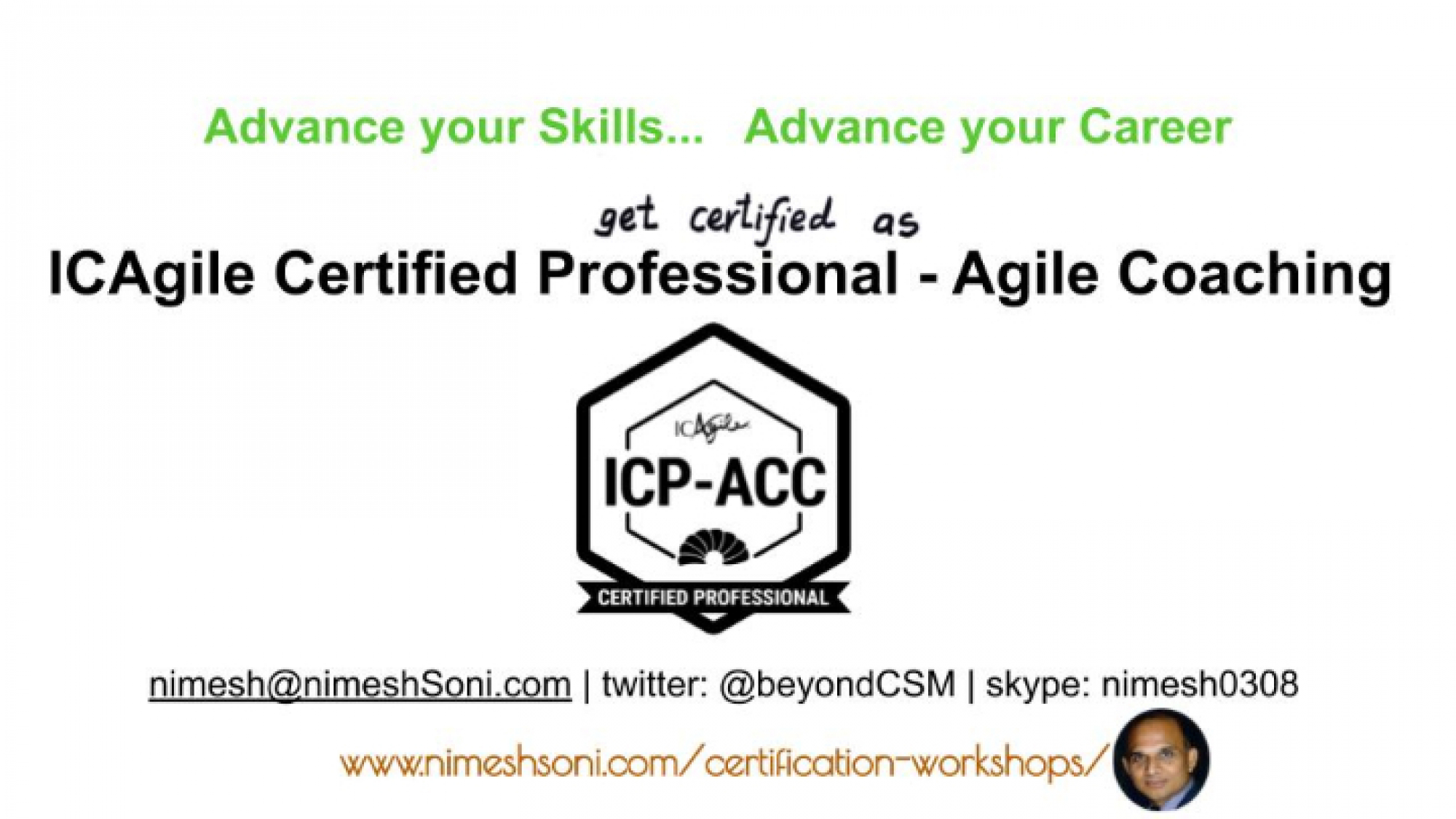 ICAgile Coaching Certification (ICP-ACC) Workshop - Brooklyn NY