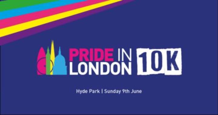 Pride in London 10K Run - Hyde Park Sunday 7 June 2020