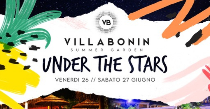 Villa Bonin Club & Restaurant‎: Under the Stars, l'estate 2020 al via il 26 ed 27 giugno