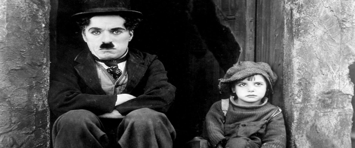 Charlie Chaplin's Silent Film The Kid with Live Improvised Music on Historic Erben Pipe Organ